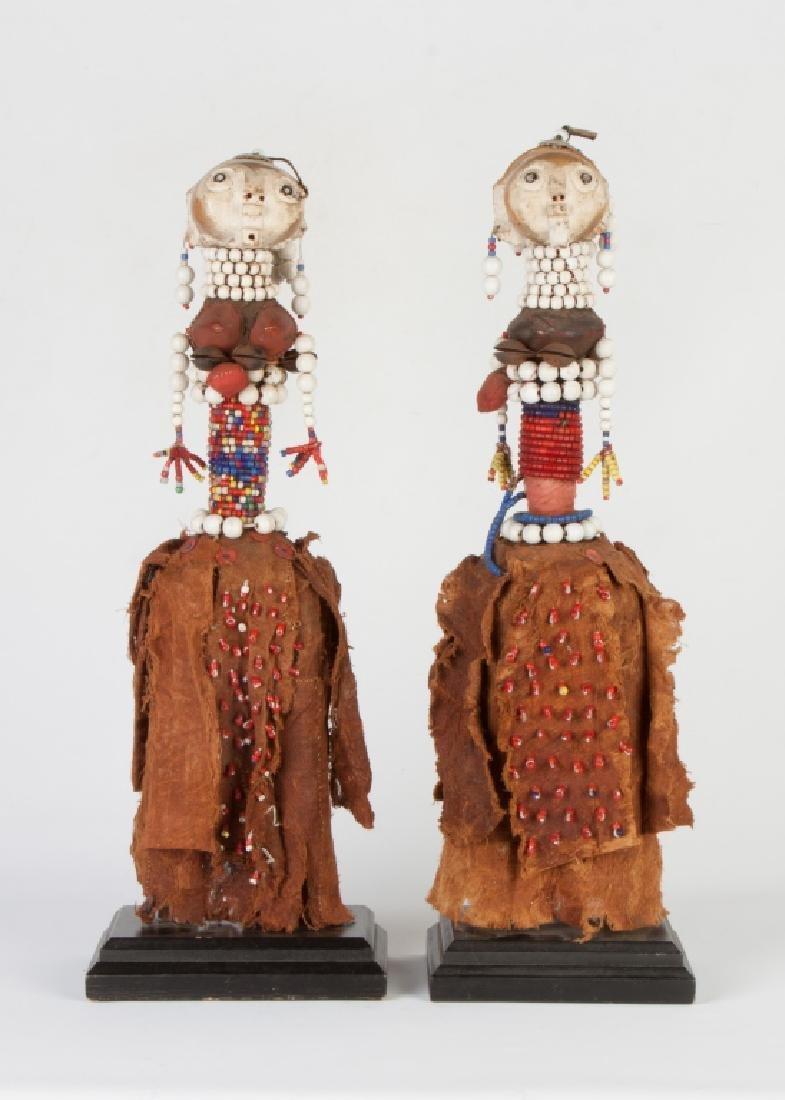 Two African Hemba/Ambole Dolls