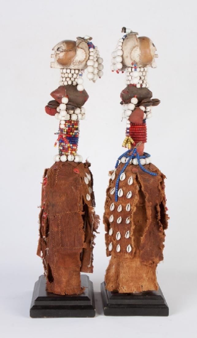 Two African Hemba/Ambole Dolls - 2