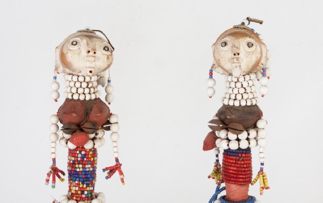 Two African Hemba/Ambole Dolls - 5