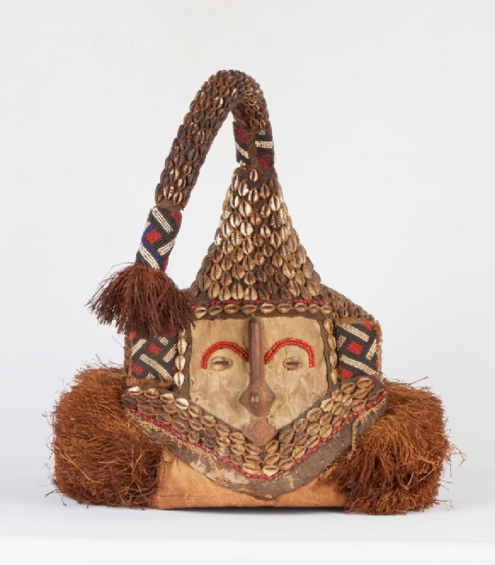"African Congo Royal Mask ""Wowaash A Mboog"" (Mukenga)"