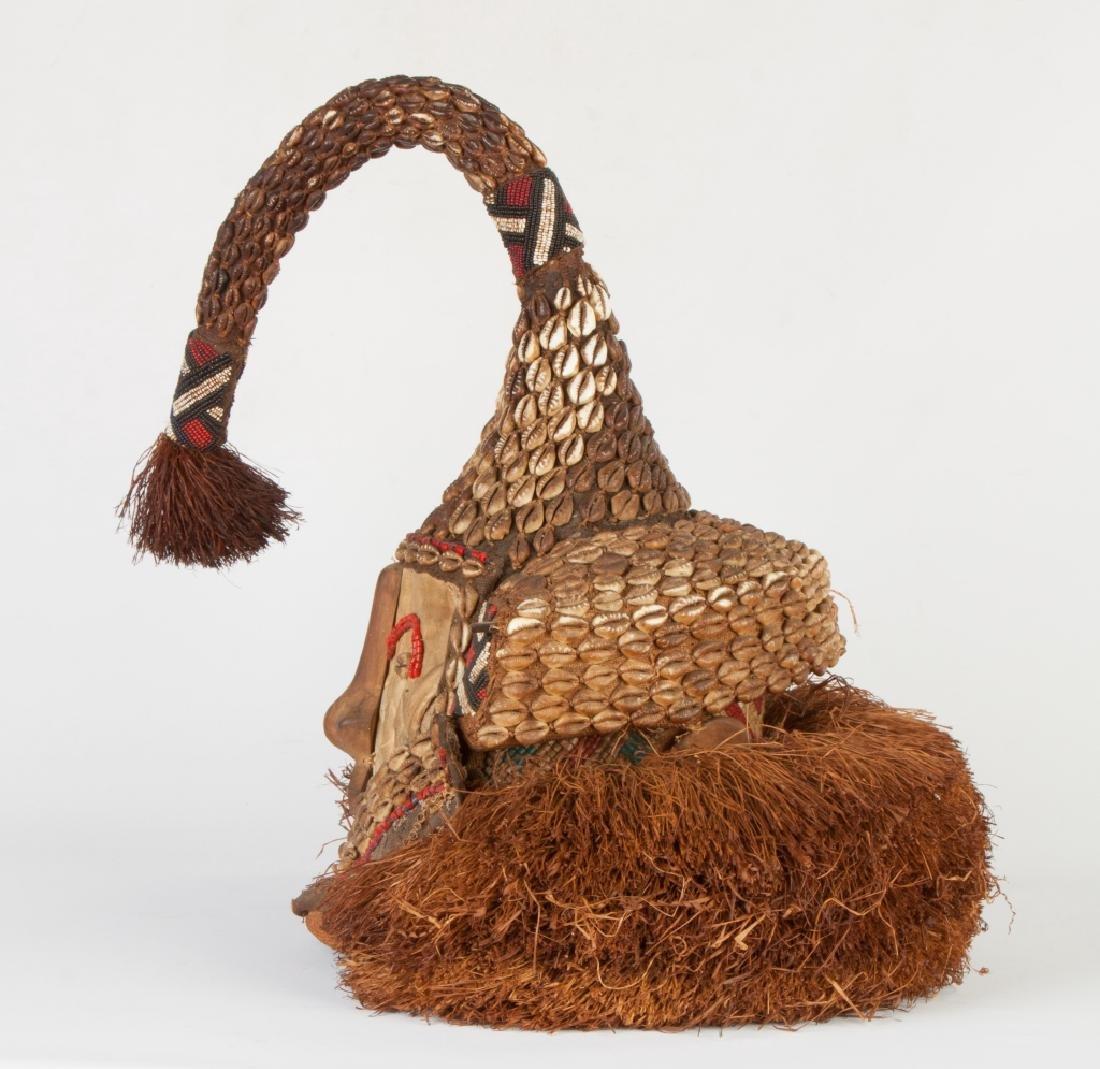 "African Congo Royal Mask ""Wowaash A Mboog"" (Mukenga) - 2"