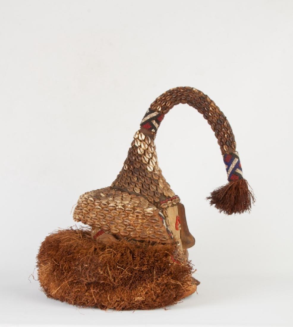 "African Congo Royal Mask ""Wowaash A Mboog"" (Mukenga) - 4"