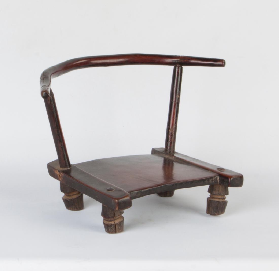 African Dan Chair