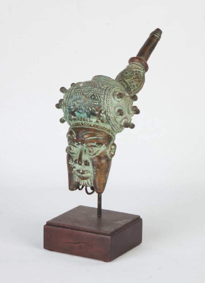 African Chief's Head Pipe