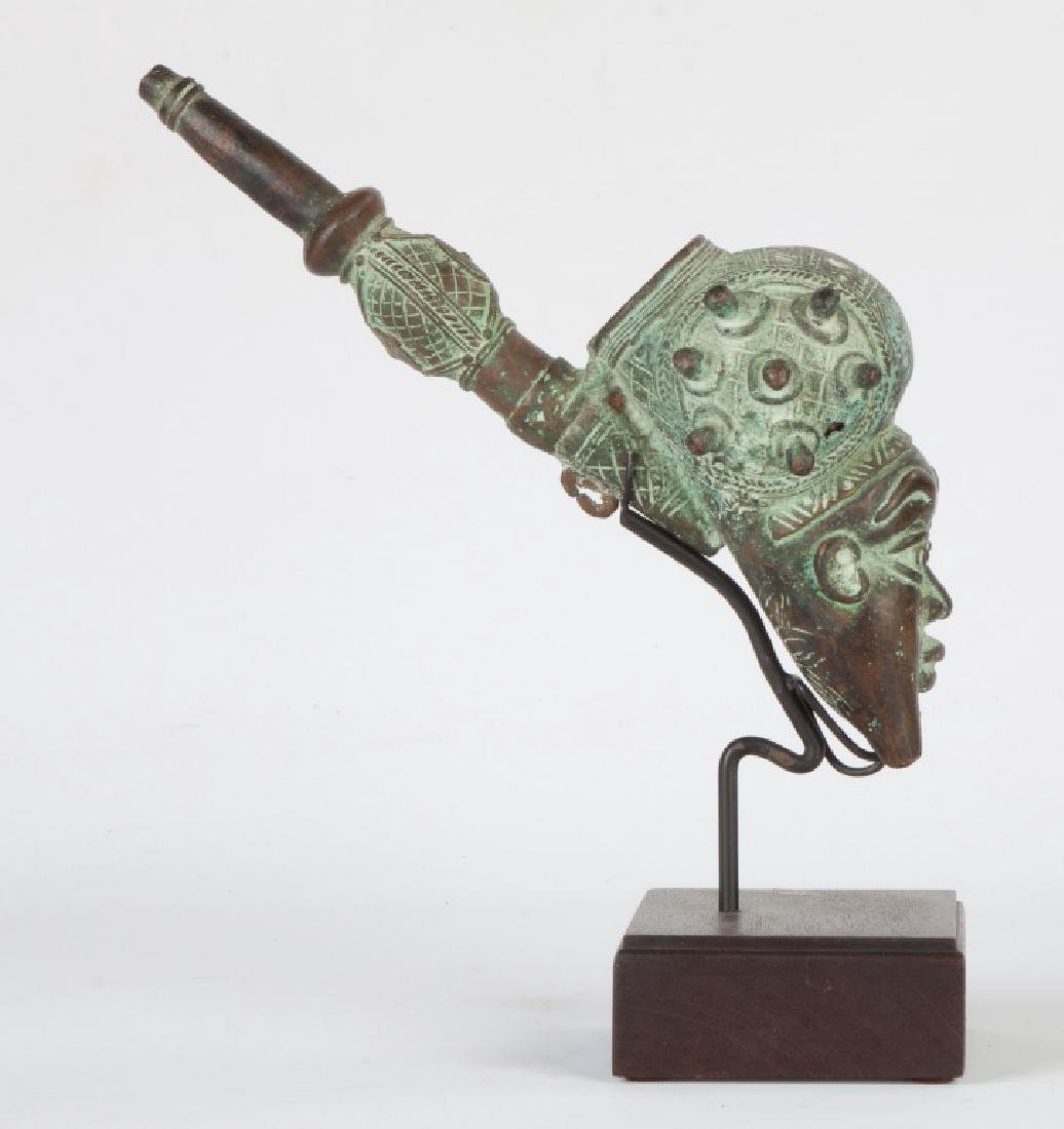 African Chief's Head Pipe - 2