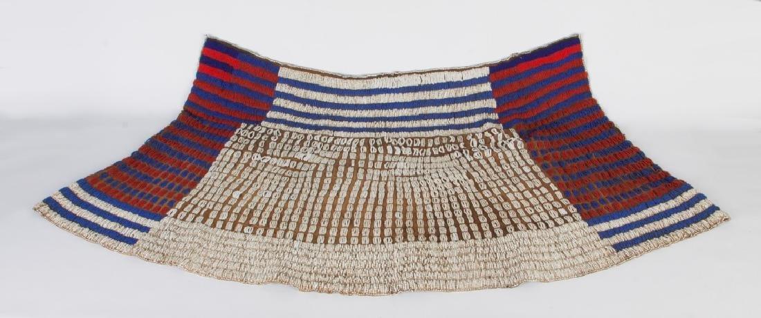 African Ceremonial Beaded Skirt