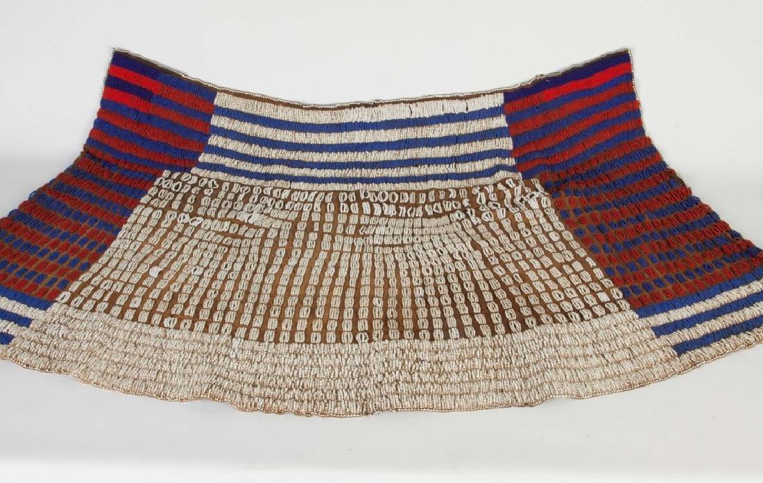 African Ceremonial Beaded Skirt - 2