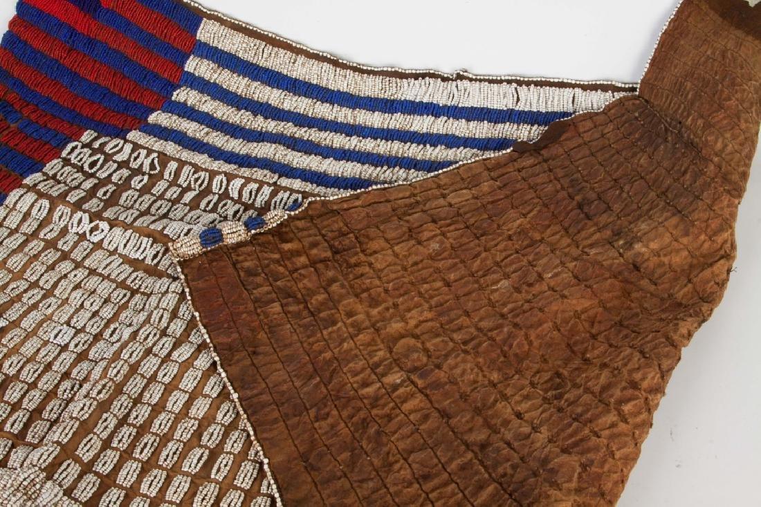 African Ceremonial Beaded Skirt - 3