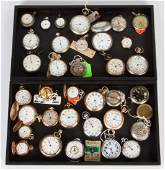Group of Pocket  Stop Watches