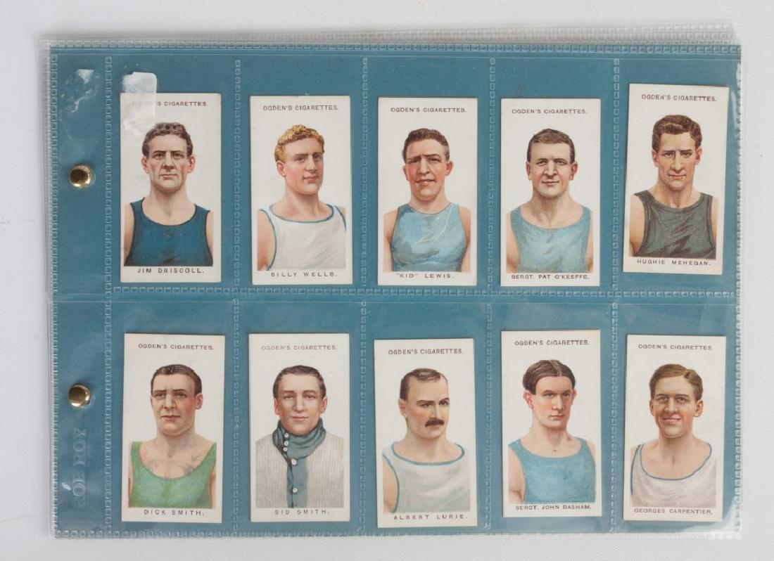 Group of Ogden's Cigarettes Boxing Cards