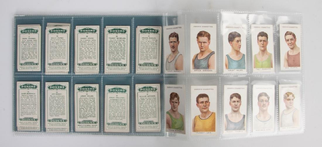 Group of Ogden's Cigarettes Boxing Cards - 2