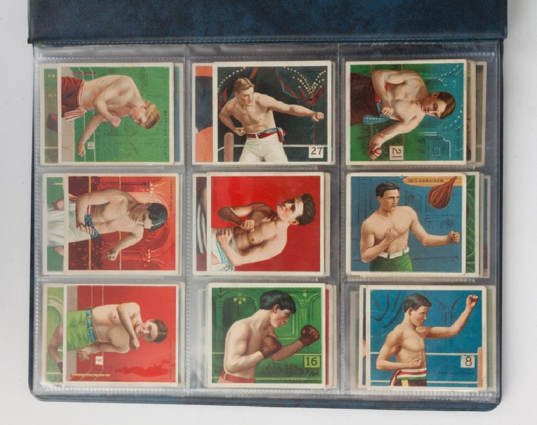 Group of 1910-11 Mecca & Hassan Boxing Cards