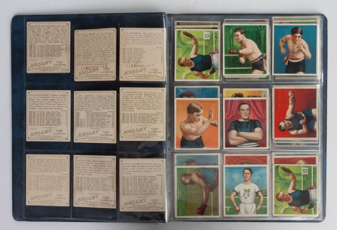 Group of 1910-11 Mecca & Hassan Boxing Cards - 2