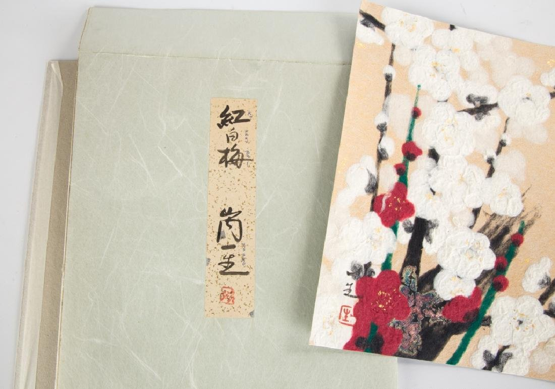 Woodblock Prints and Needlework - 6