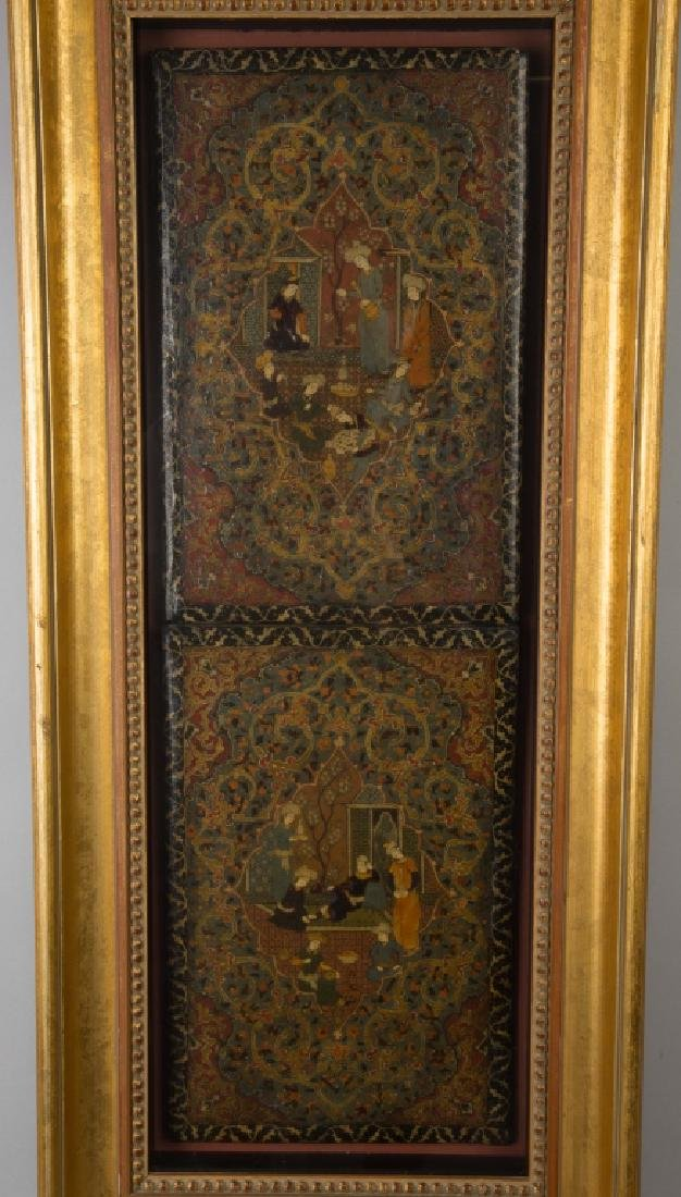 Persian Painted and Lacquered Book Covers - 3