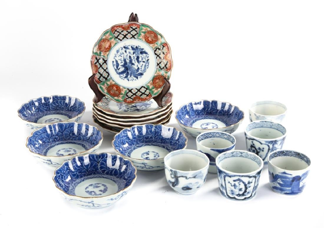 Group of Chinese Porcelain Table Ware