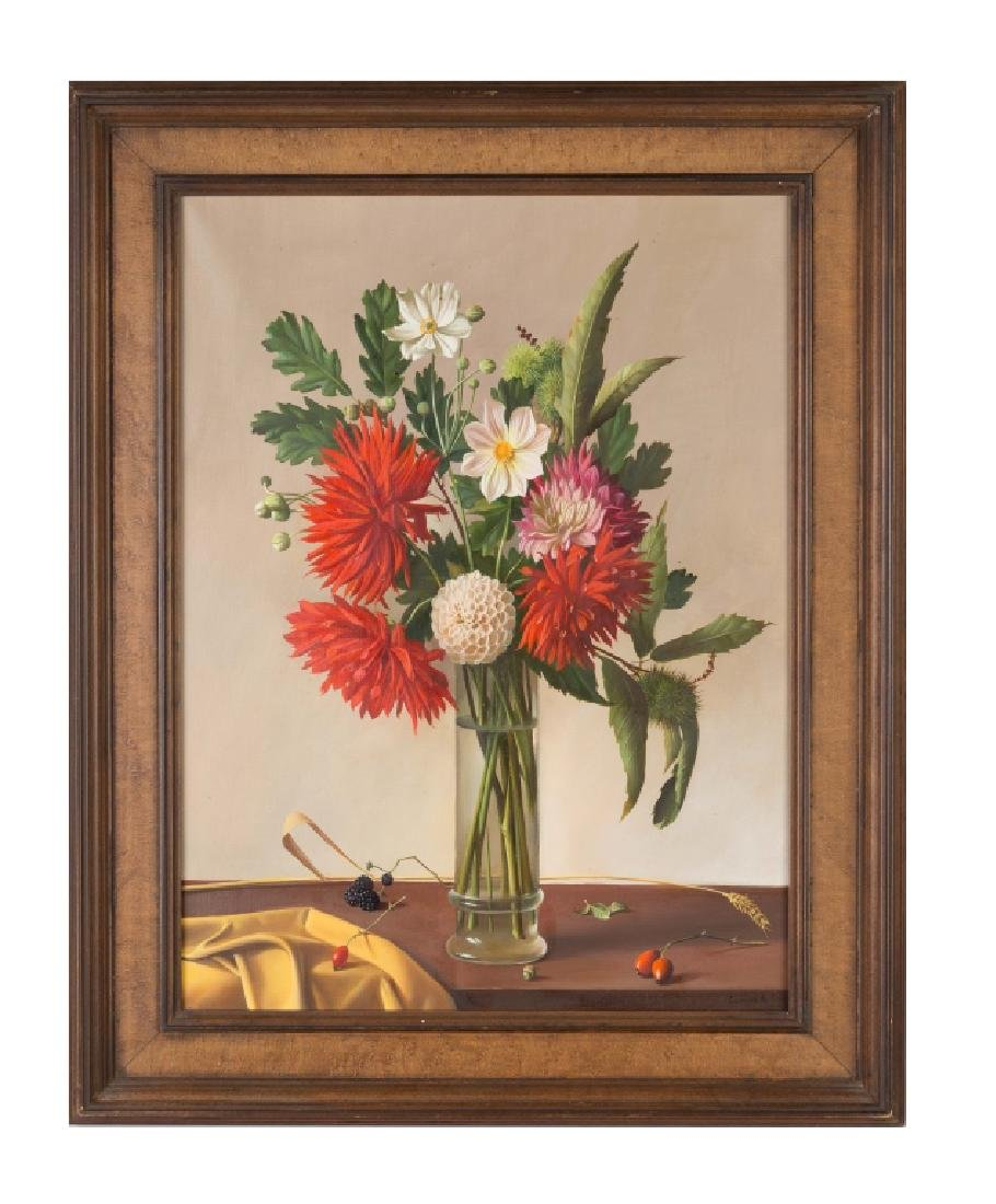 Fernand Renard (French, born 1912) Vase with Red