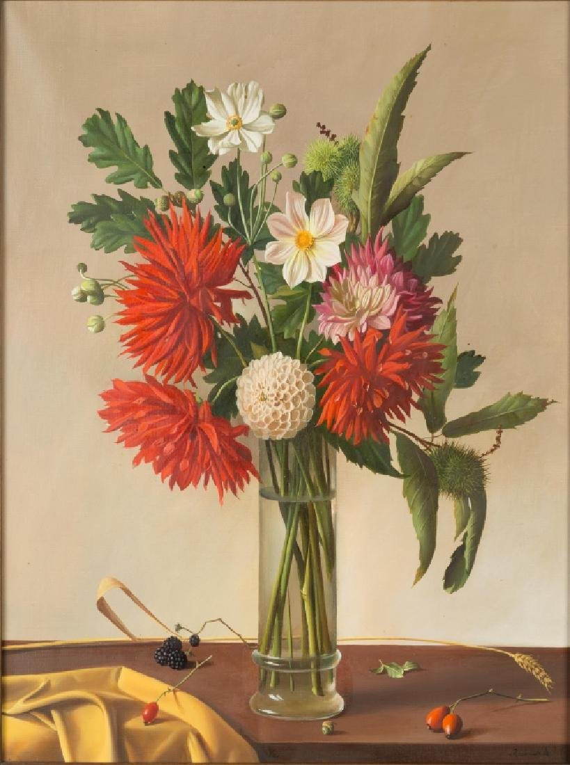 Fernand Renard (French, born 1912) Vase with Red - 2