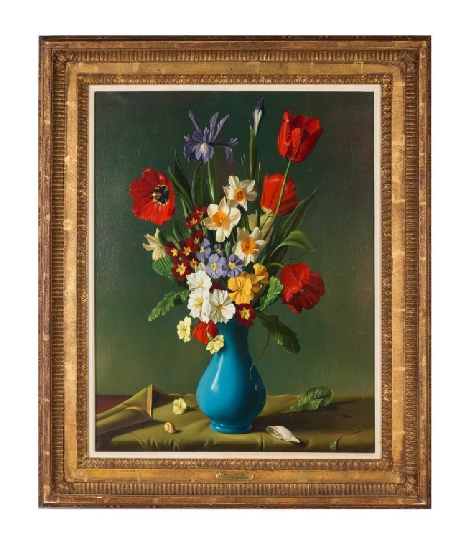 """Fernand Renard (French, born 1912) """"Fleurs du Vase"""