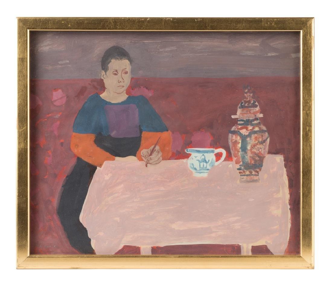 "Honore Desmond Sharrer (American, 1920-2009) ""Woman at"