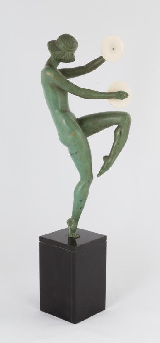 Bronze Sculpture of a Cymbal Player - 2