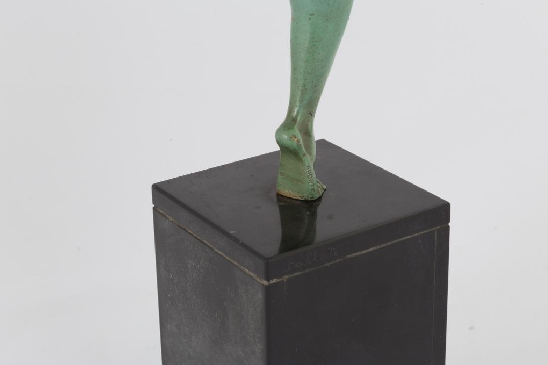 Bronze Sculpture of a Cymbal Player - 4