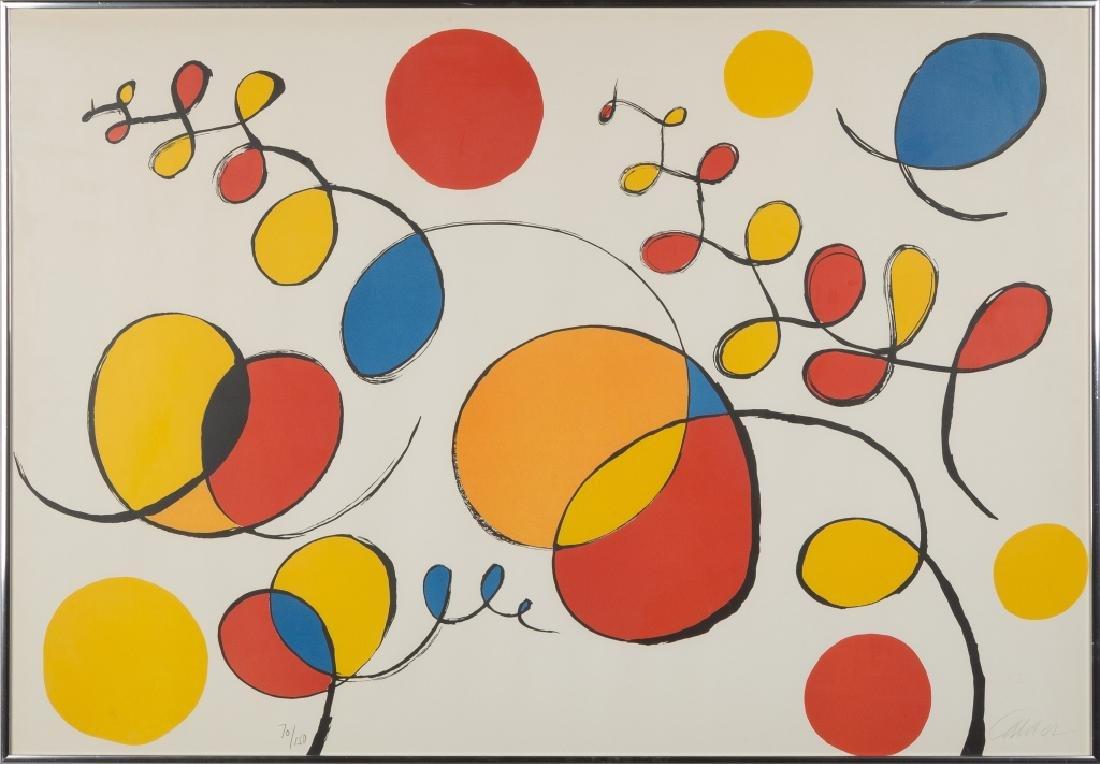 Alexander Calder (American, 1898-1976) Lithograph
