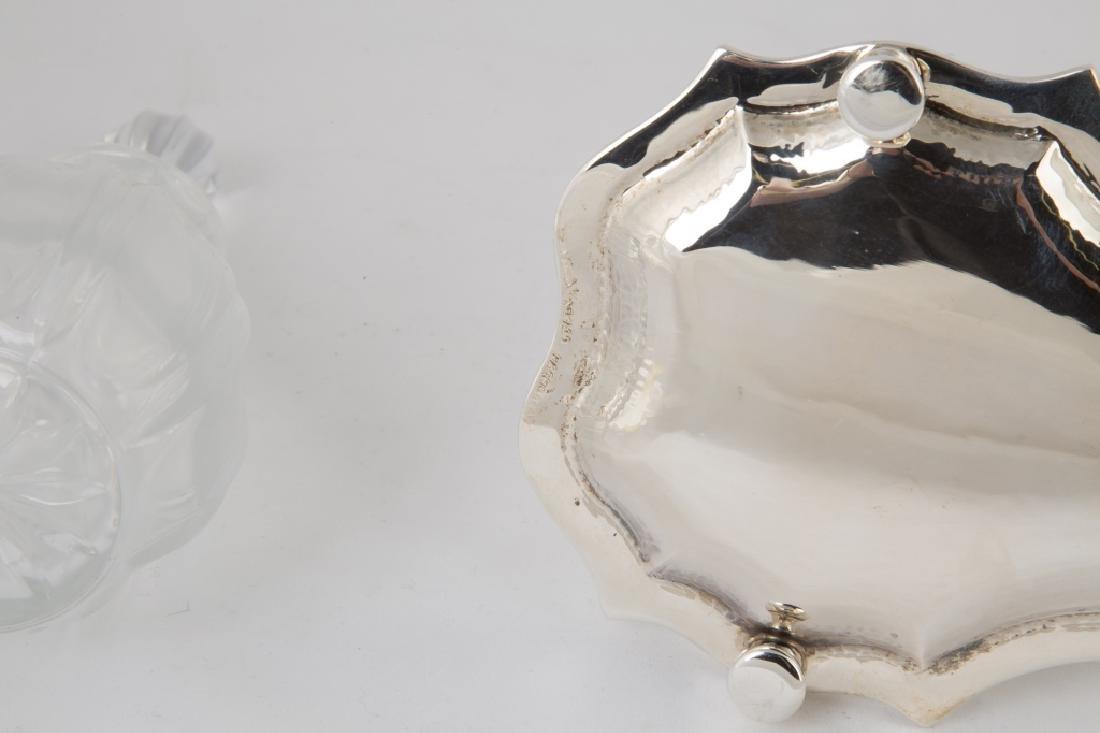 Buccellati Sterling Silver and Cut Glass Cruet Set - 2