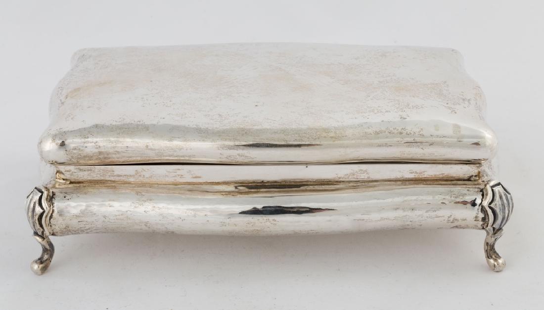 Buccellati Sterling Silver Jewelry Box