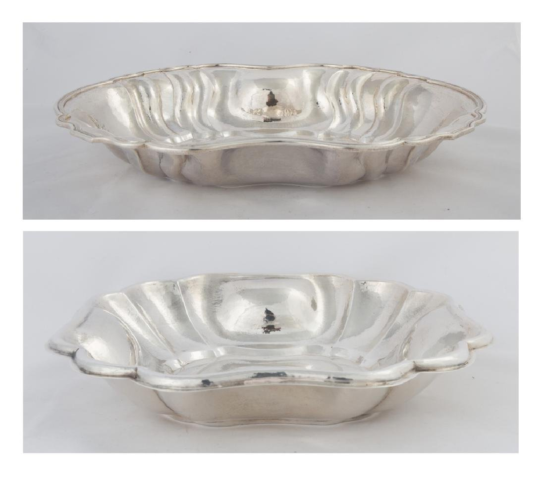 Two Buccellati Sterling Silver Serving Dish