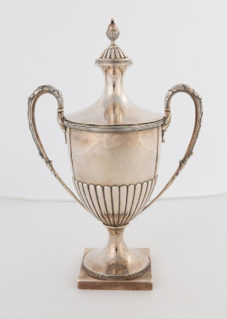 Daniel Pontifex Sterling Silver Covered Urn - 2