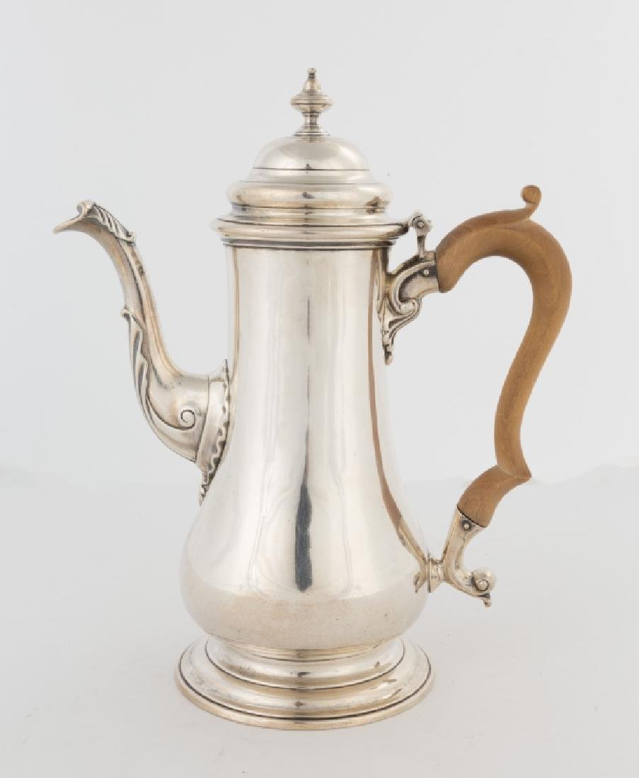 Henry Morris Sterling Silver Coffee Pot