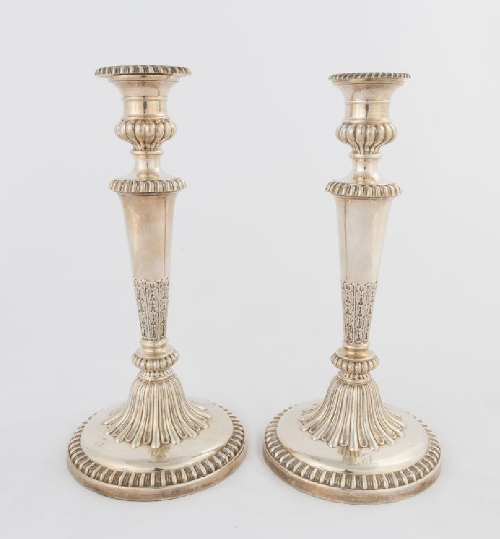 Pair of John and Thomas Settle Sterling Silver