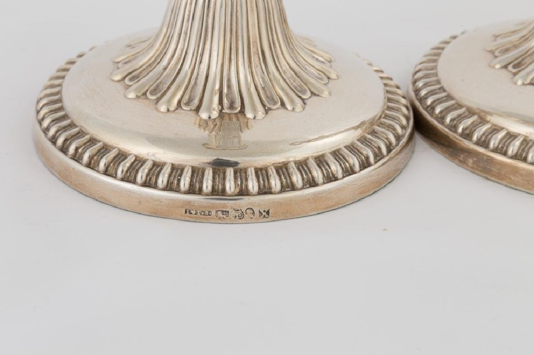 Pair of John and Thomas Settle Sterling Silver - 2