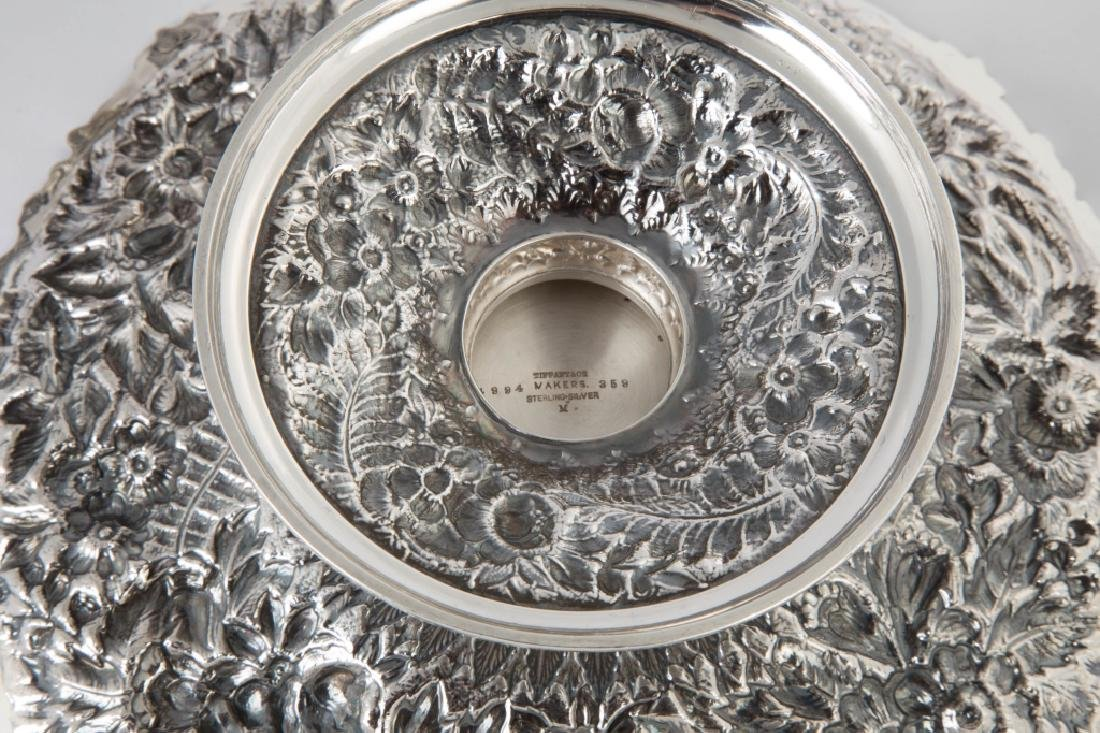 Pair of Tiffany & Co. Makers Sterling Silver Heavy - 3