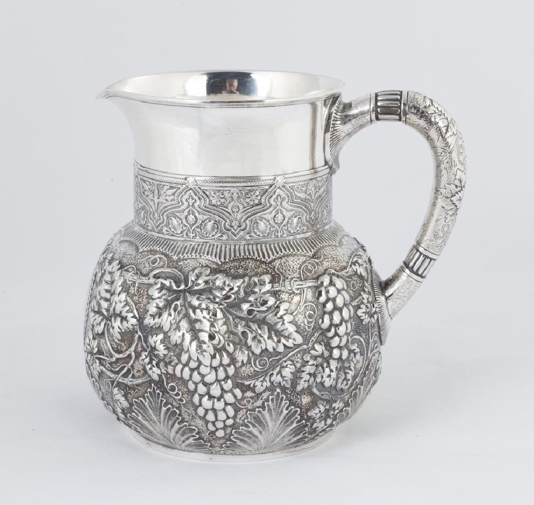 Tiffany & Co. Makers Sterling Silver Repousse Water