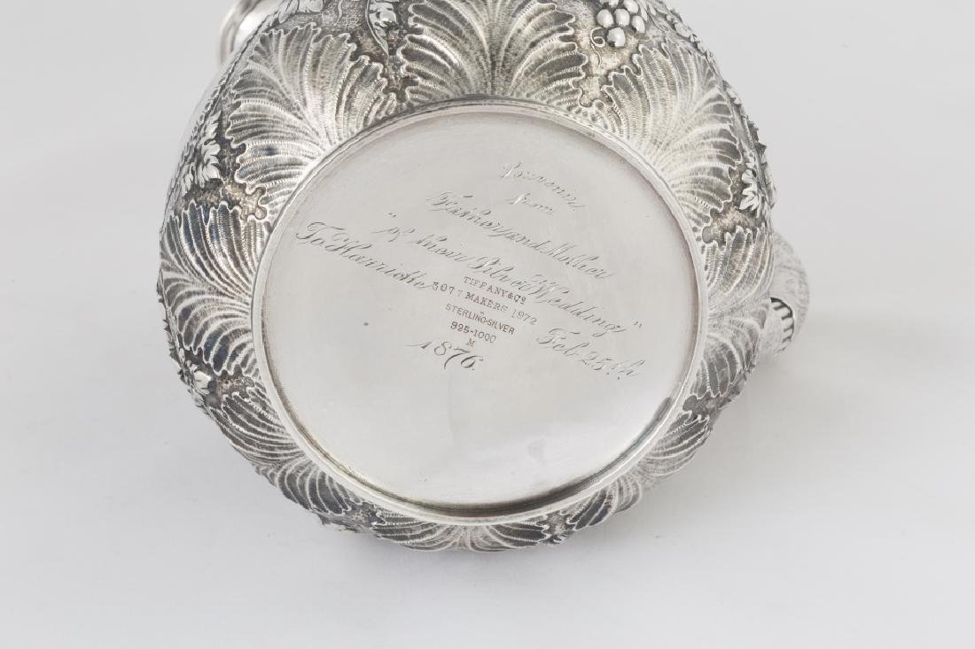 Tiffany & Co. Makers Sterling Silver Repousse Water - 3