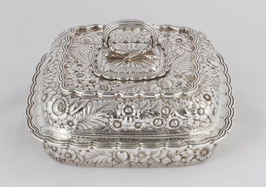 Tiffany & Co. Makers Sterling Silver Heavy Repousse - 2