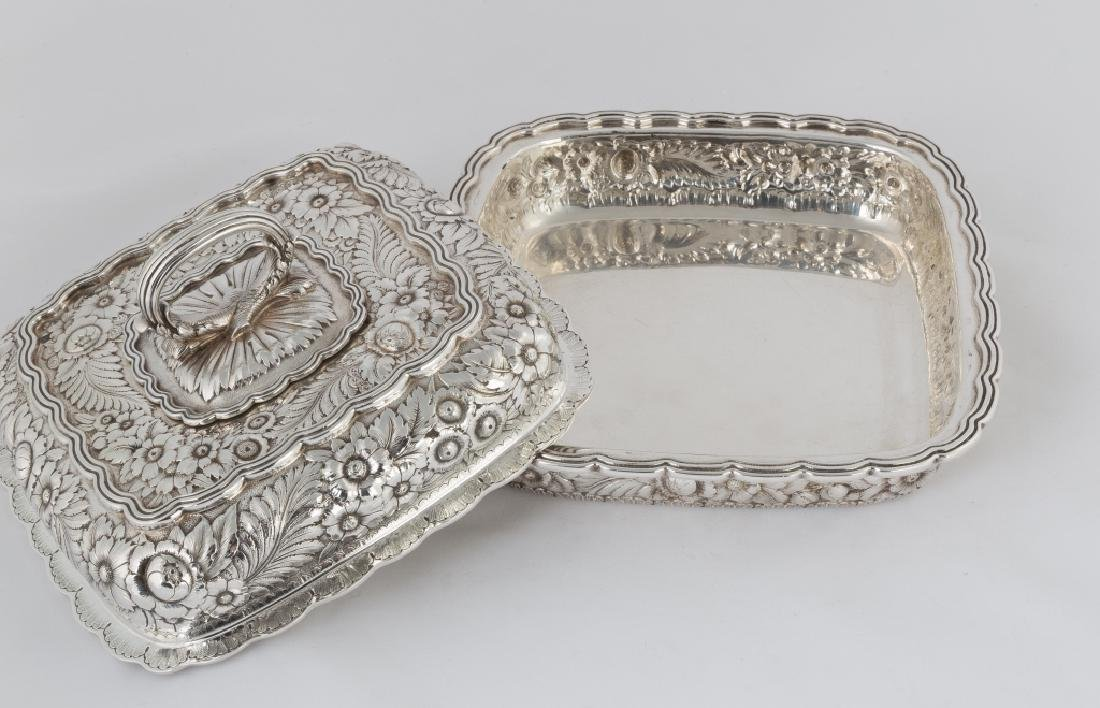 Tiffany & Co. Makers Sterling Silver Heavy Repousse - 4
