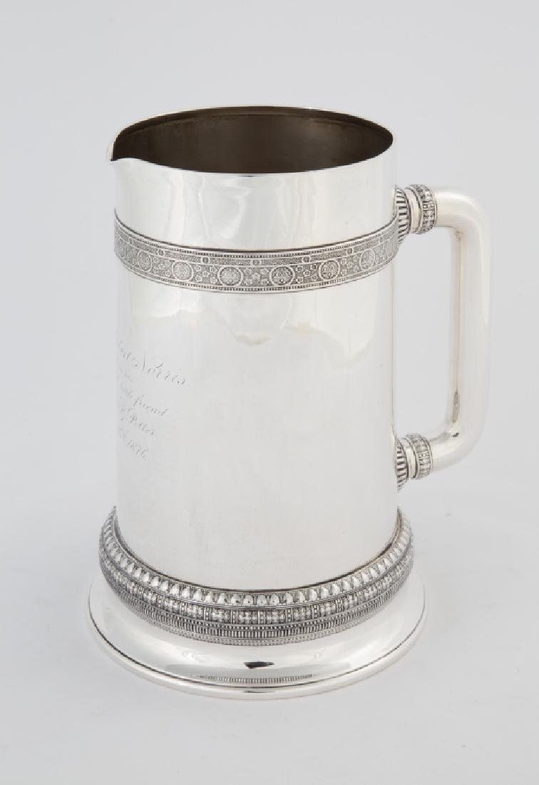 Tiffany & Co. Sterling Silver Water Pitcher with Molded