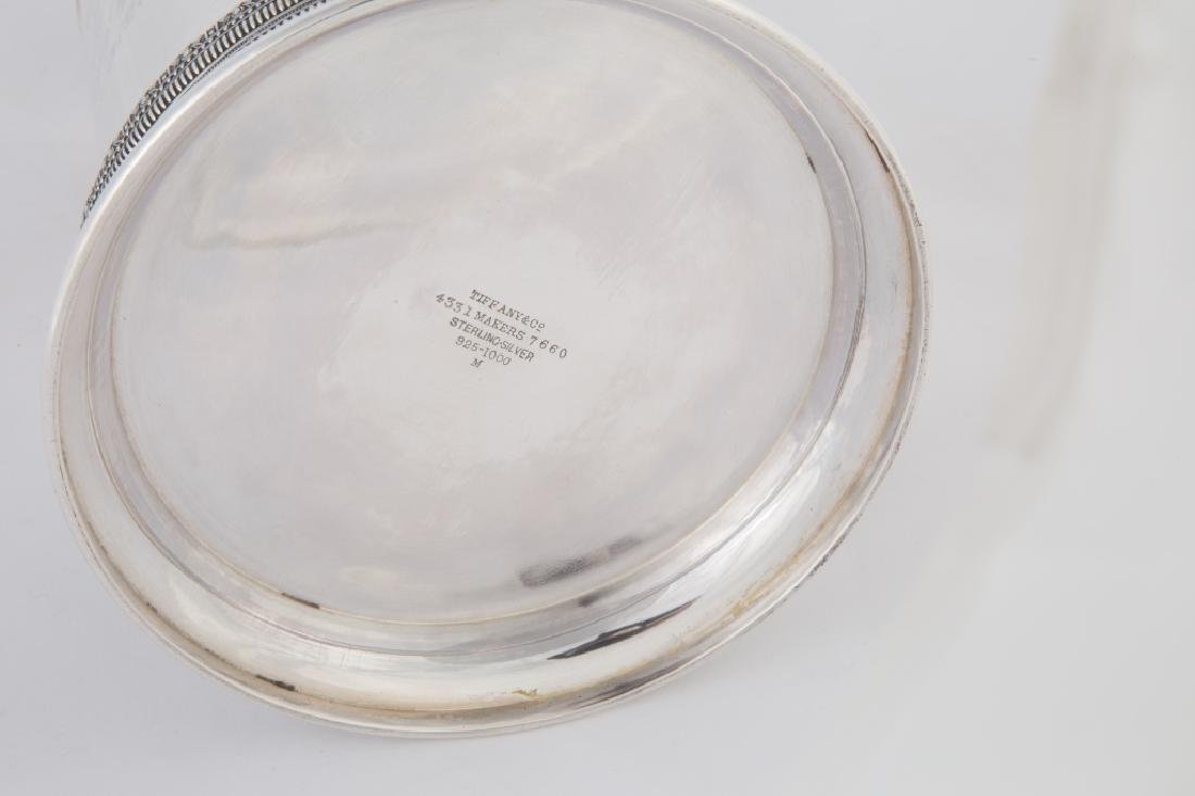 Tiffany & Co. Sterling Silver Water Pitcher with Molded - 2