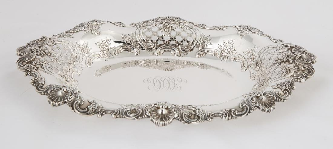 Tiffany & Co. Makers Serving Tray with Shell and Floral