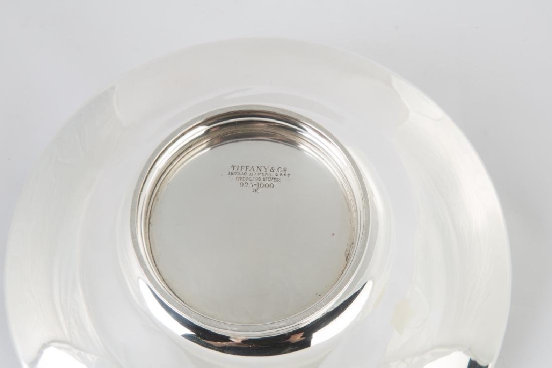 Tiffany & Co. Makers Sterling Silver Handled Basket - 2