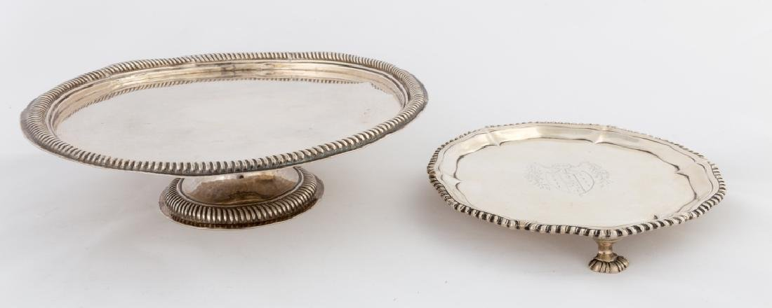 Sterling Silver Tazza and Salver