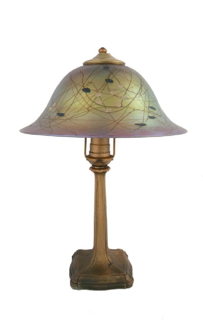 Steuben Millefiori Table Lamp