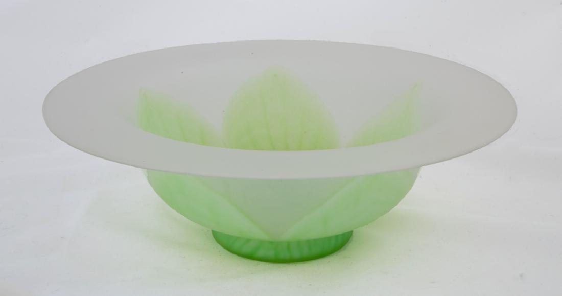 Steuben Green Florencia Center Bowl