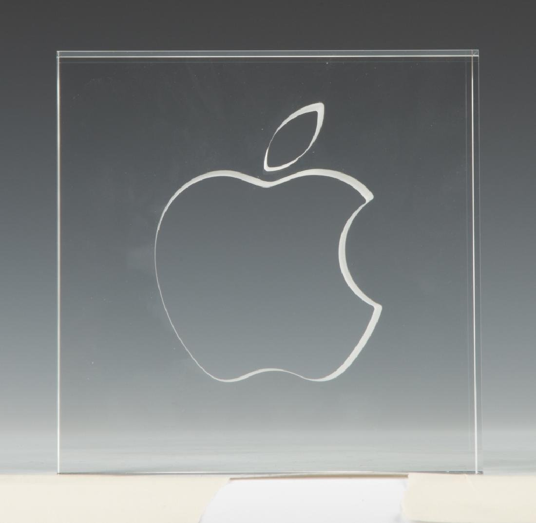 Steuben Limited Edition of Apple Computer Logo
