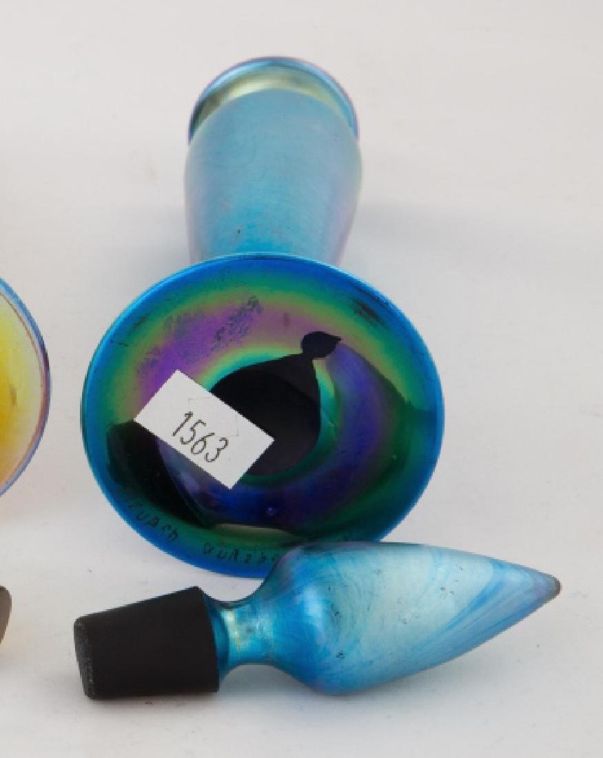 Steuben Blue Aurene Perfume - 2