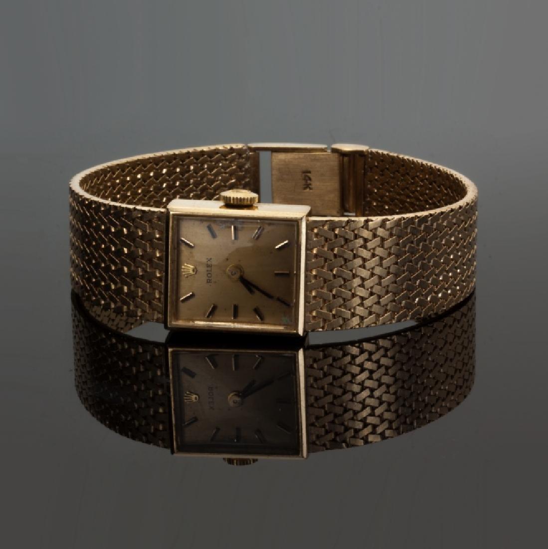 Rolex Ladies 14K Gold Watch