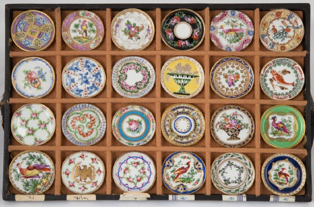 Rare Salesman Sample Sevres Dinner Plates